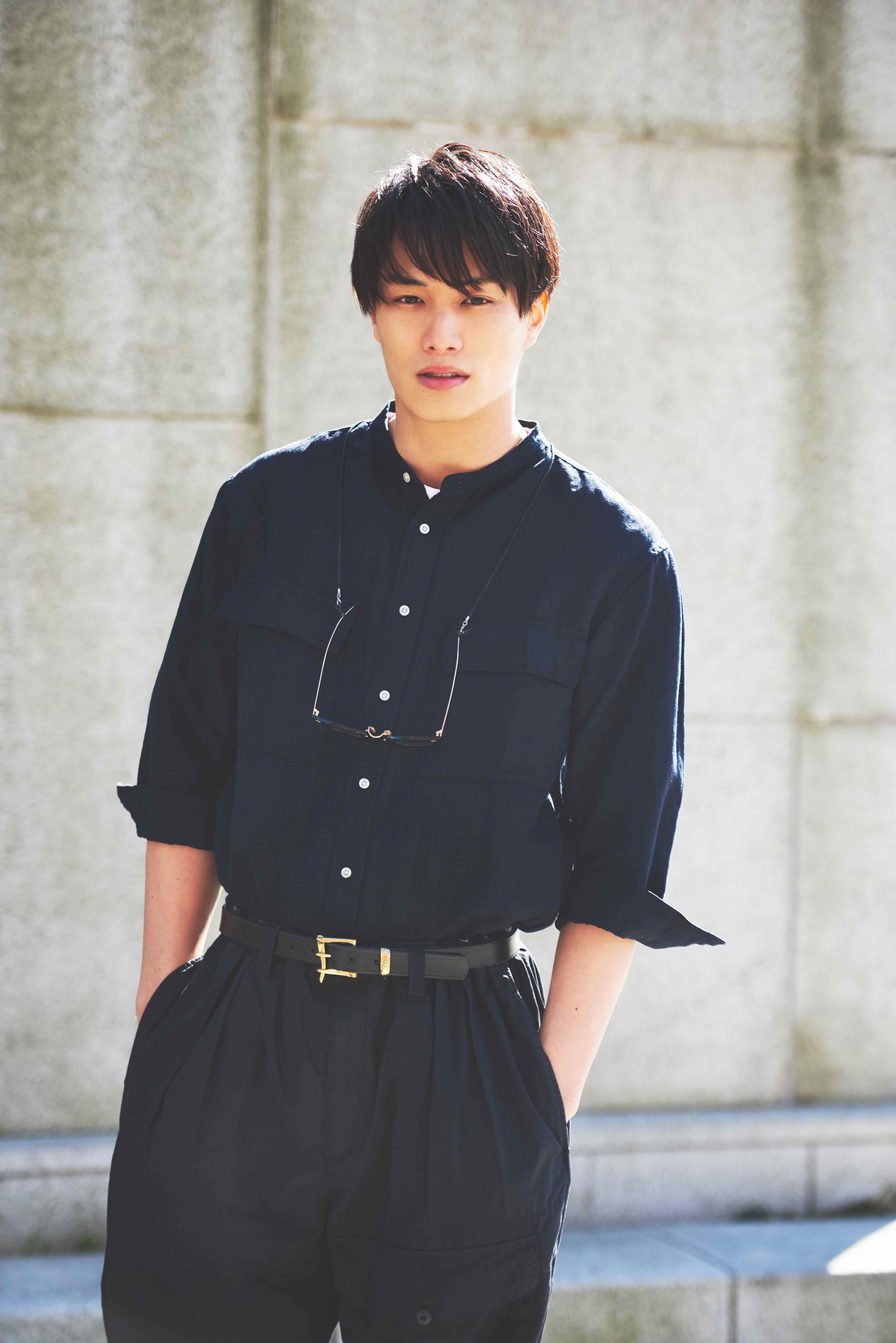 鈴木伸之×〈Right-on〉ファッション・コラボレート
